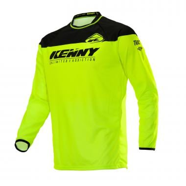 Maillot KENNY TRACK Manches Longues Jaune 2020