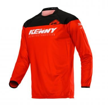 Maillot KENNY TRACK Manches Longues Rouge 2020
