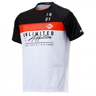Maillot KENNY INDY Manches Courtes Blanc 2020