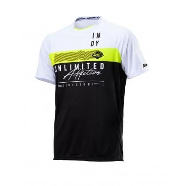 Maillot KENNY INDY Manches Courtes Noir 2020
