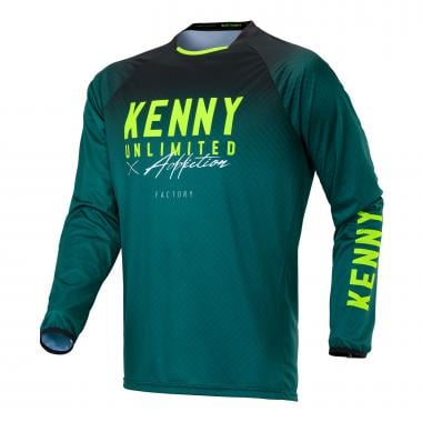 Maillot KENNY FACTORY Enfant Manches Longues Vert 2020