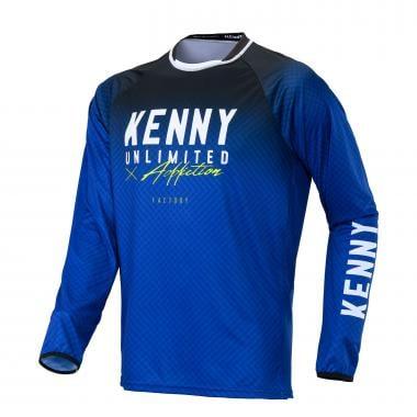 Maillot KENNY FACTORY Enfant Manches Longues Bleu 2020