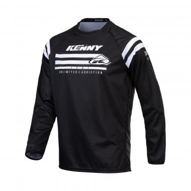 Maillot KENNY TRACK RAW Manches Longues Noir 2021