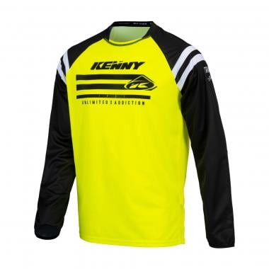 Maillot KENNY TRACK RAW Manches Longues Jaune 2021
