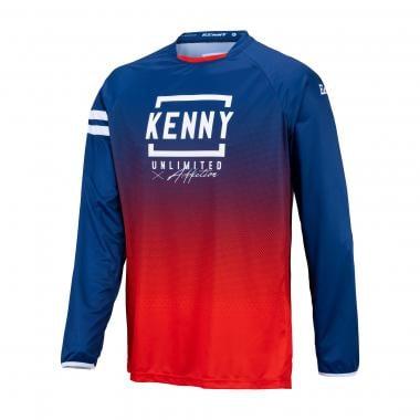 Maillot KENNY ELITE Bleu/Rouge 2021