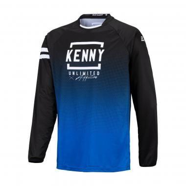 Maillot KENNY ELITE Noir/Bleu 2021