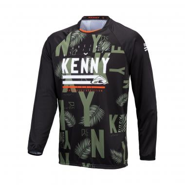 Maillot KENNY CHARGER Manches Longues Noir/Vert 2021