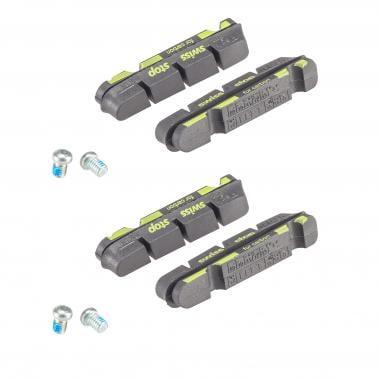 SWISS STOP FLASH PRO BLACK PRINCE Shimano Pairs of Cartridge Brake Pads Carbon