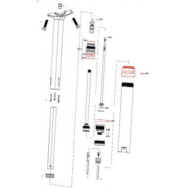 Kit d'Entretien 200H/1 an pour Tige de Selle ROCKSHOX REVERB Stealth C1 #11.6818.051.002