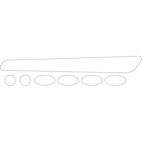 BBB BikeSkin Sticker de Protection pour Cadre v/élo