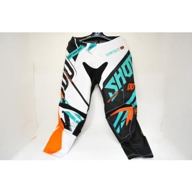 CDA - Pantalon SHOT CONTACT RACEWAY Orange/Vert 2016 Taille 34