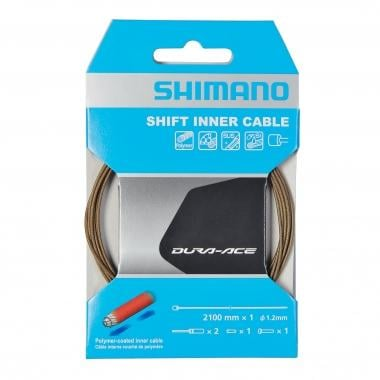 Cable de cambio SHIMANO DURA-ACE / XTR Polímero 1,2 mm x 2100 mm