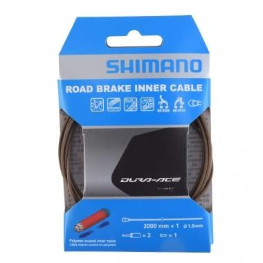 Cable de freno SHIMANO DURA-ACE Polímero 1,6 mm x 2000 mm
