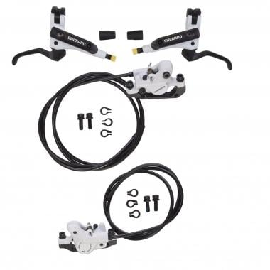 Par de Travões SHIMANO M506 J-Kit Sem Disco Branco