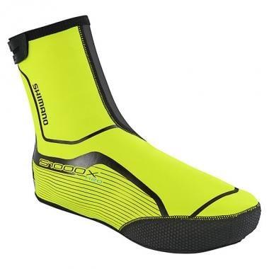 Capas para Sapatos SHIMANO S1000X H2O Amarelo Fluorescente 2016