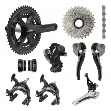 Groupe Complet SHIMANO 105 5800 36/52 - 12/25