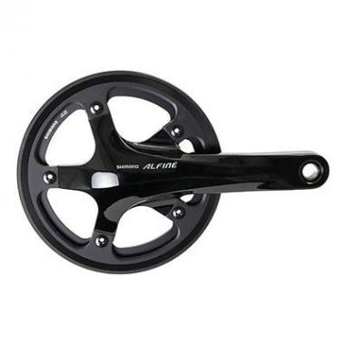 Guarnitura 9V SHIMANO ALFINE FC-S501 170 mm Nero