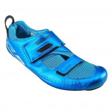 Sapatos de Triatlo SHIMANO TR9 Azul 2017