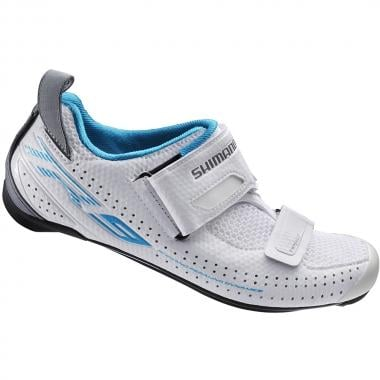 Zapatillas Triatlón SHIMANO TR9 Mujer Blanco 2017