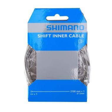 Cables de cambio SHIMANO Acero 1,2 mm x 2100 mm (x10)