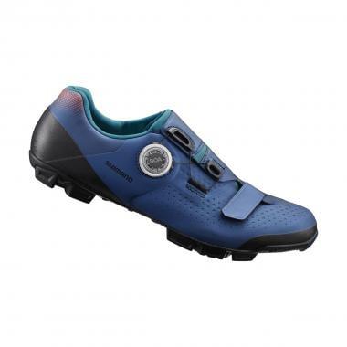Chaussures VTT SHIMANO XC5 Femme Bleu 2020