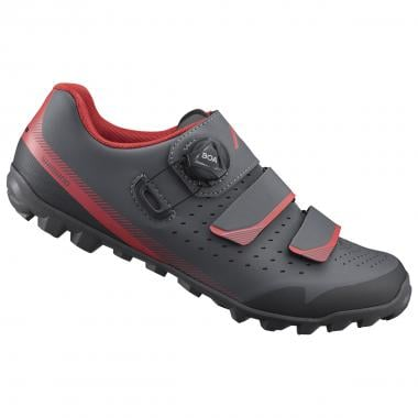 Chaussures VTT SHIMANO ME4 Femme Gris/Rouge 2020
