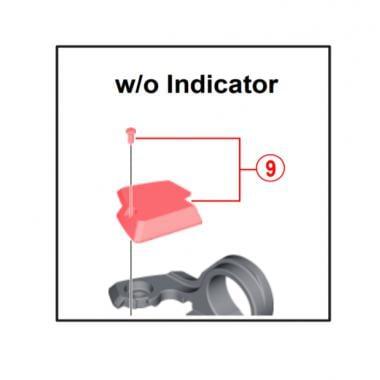 Capot de Passage d'Indicateur pour Commande de Vitesses SHIMANO XT M8000 11V Droite #Y03K98080