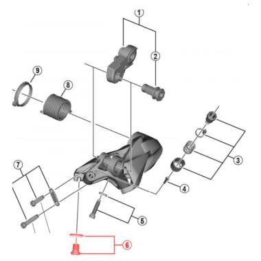 Shimano Spare Part CS7800/pignone 15T