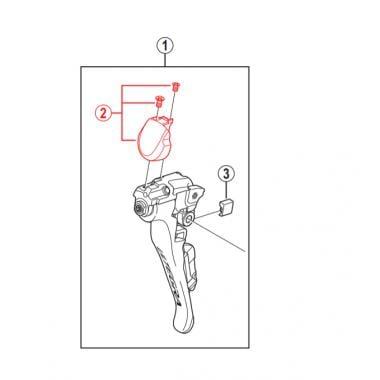 droit Shimano Levier Unité Pour st-6700