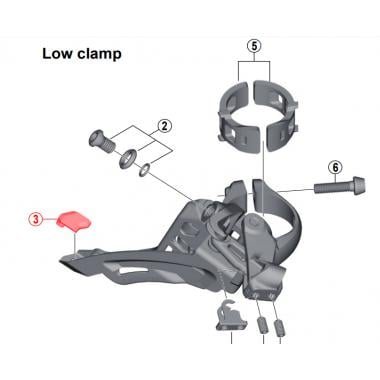 Shimano XTR Di2 M9050//M9070 11-Speed RD-M9050 BOOT Cover Y5PU130Y0
