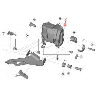 Y5R5070S0 Shimano XTR Di2 M9050//M9070 11-Speed FD-M9070 Bracket Fixing Bolt