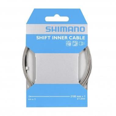Câble de Dérailleur SHIMANO Inox 1,2 mm x 2100 mm