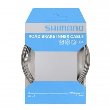 Cable para freno SHIMANO PTFE 1,6 mm x 2050 mm