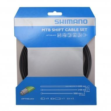Kit de cables y fundas de transmisión SHIMANO MTB OPTISLICK