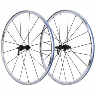 Par de ruedas SHIMANO WH-RS21 Para cubiertas Blanco