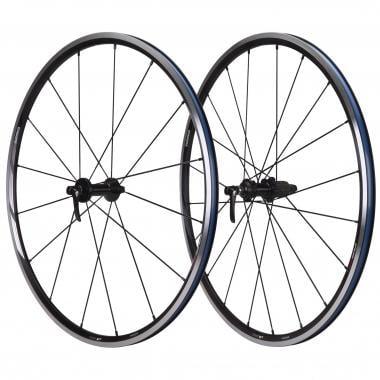 Par de ruedas SHIMANO WH-RS21 Para cubiertas Negro