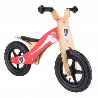 Bici sin pedales REBEL KIDZ RETRO RACER Madera Rojo