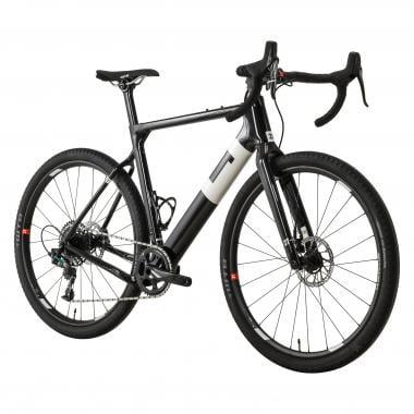Vélo de Gravel 3T EXPLORO TEAM DISC Sram Force 1 42 Dents Noir/Blanc 2019