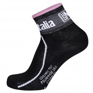 SANTINI GIRO FASHION Socks Black/Pink 2016