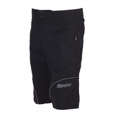Pantalón corto SANTINI FORGE Negro