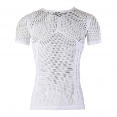 Camiseta interior SANTINI MESH Mangas cortas Blanco 2017