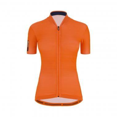 Maillot SANTINI COLOR Femme Manches Courtes Orange 2021