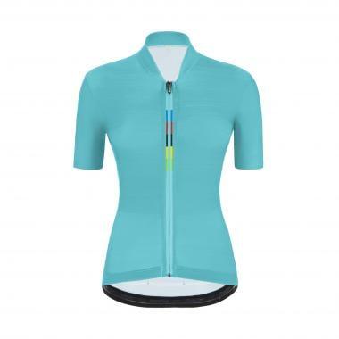 Maillot SANTINI UCI OFFICIAL SCIA TOUR Femme Manches Courtes Bleu 2021