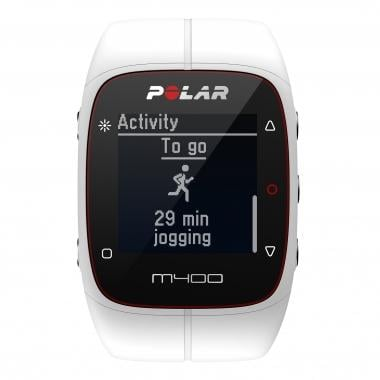 Orologio GPS POLAR M400 HR Bianco
