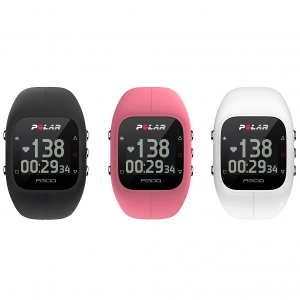 how to change the time on polar a300