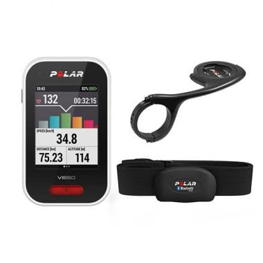 Vorteilspack GPS-Gerät POLAR V650 N Cardio H10 + Haltearm - Sonderangebot