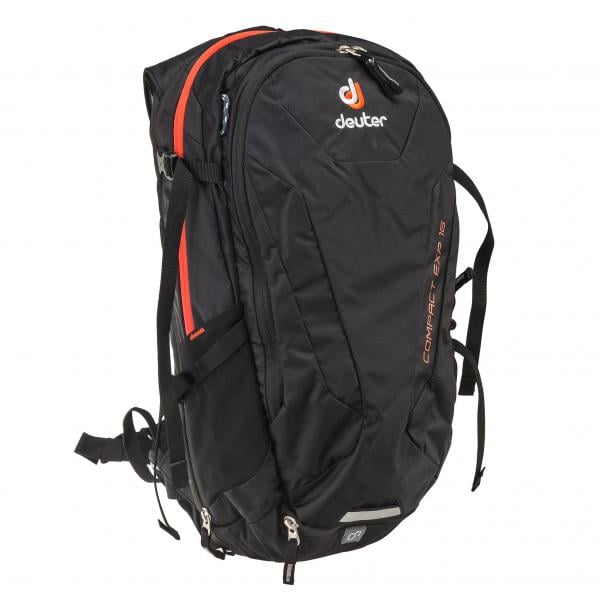 official store innovative design release date DEUTER COMPACT EXP 16 Backpack Black - Probikeshop