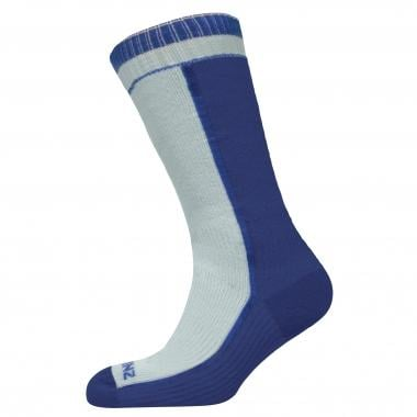 Meias SEALSKINZ MID WEIGHT MID LENGTH Branco/Azul