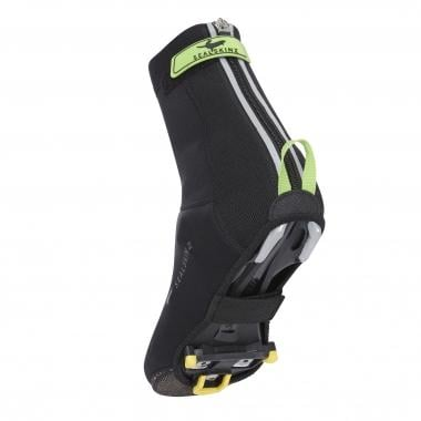 Copriscarpe SEALSKINZ NEOPRENE OVERSHOE OPEN SOLE Nero/Verde