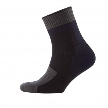 Meias SEALSKINZ THIN ANKLE LENGTH HYDROSTOP Preto